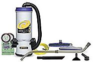 ProTeam Backpack Vacuums Super CoachVac HEPA Commercial Backpack Vacuum Cleaner.