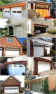 Pergola Over Garage an Excellent Option