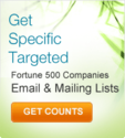 Fortune 500 companies mailing database