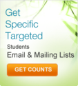 Students Email Lists, Student Mailing Lists