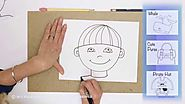 Teaching Kids How to Draw: How to Draw a Boy's Face