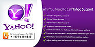 Call Yahoo Support@ +1-877-618-6887