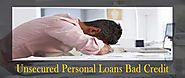 Overcome Bad Credit Situation with Unsecured Personal Loans
