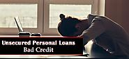 Easily Searchable Deals on Unsecured Personal Loans for Bad Credit People