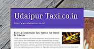 Udaipur Taxi.co.in