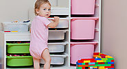 Toy Organizer Bins For kids