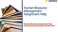 Human Resource Management Assignment Help From Experts