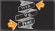 Difference between Web Advertising and Print Advertising | Affordable Web Design