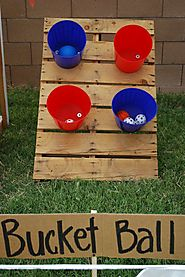 Outdoor Bucket Ball