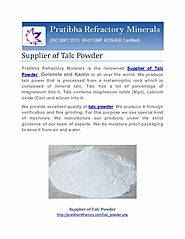 Supplier of Talc Powder- Best Price