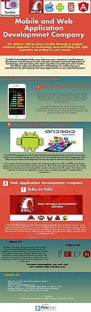 Mobile and Web Application Development Company