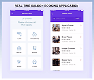 Location based Saloon finder and booking application | TecOrb Technology