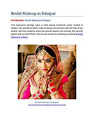 Bridal Makeup in Udaipur-First Impression