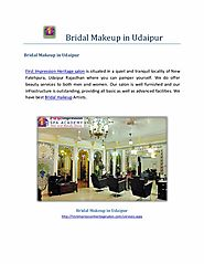 Bridal makeup in Udaipur-Beauty Treatment