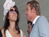 Shane Warne tweets loving message to Liz Hurley