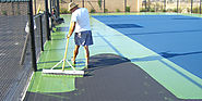 Games Courts Resurfacing by Taylor Tennis Courts