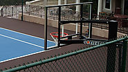 Basketball Courts Construction - Taylor Tennis Courts