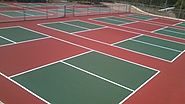 Pickleball Begins - Curious Start - Taylor Tennis Courts
