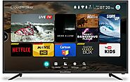 CloudWalker Cloud TV 109cm (43) Full HD Smart LED TV Online | Upto 12,000 off on exchange