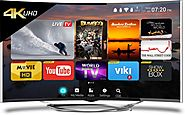 CloudWalker Tv 55 inch Ultra HD (4K) Curved LED Smart TV | Upto 22,000/- Exchange Offer