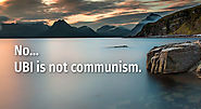 UBI is NOT Communism.