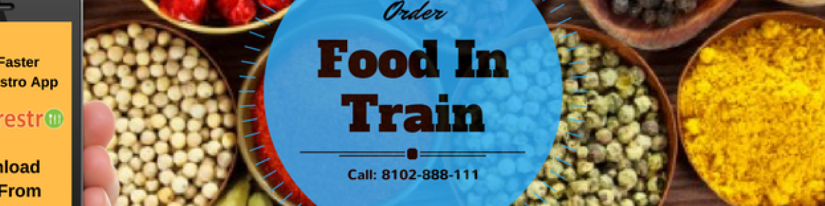 Headline for Food Ordering In Train