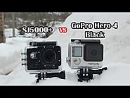 SJ5000 Plus (SJ5000+) vs GoPro Hero 4 Black