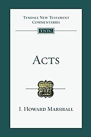Acts (TNTC) by I. Howard Marshall