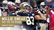 Screen to Willie Snead leads to a 50 yard touchdown pass!!!