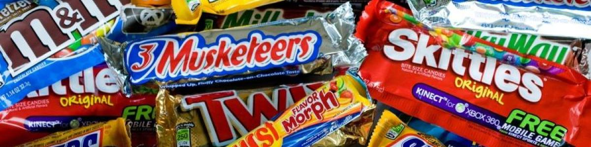 Headline for top 10 candies