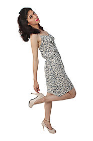 Buy Dresses & Gowns - Short Summer Dress Online for 999 Rs.@ FleAffair