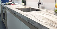 Worktops Edge details infographics by Arlington Worksurfaces Direct