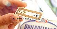 Role Of RFID Technology In Everyday Life