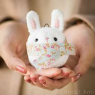 Bunny Ornament - All About Ami