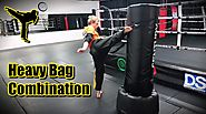 Beginner Muay Thai Heavy Bag Combinations