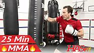 MMA Heavy Bag Workout