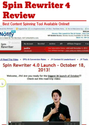 Spin Rewriter 4 Review: Best Content Spinning Tool Available Online!!