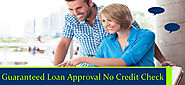 Guaranteed Loan Approval Presented with No Credit Check