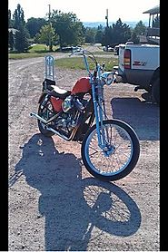 Finding a used Harley Davidson chopper for sale