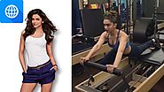 Deepika Padukone Gym Workout, Pilates and TRX Exercises