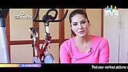 Sunny Leone's Workout | Inch By Inch | MTunes HD