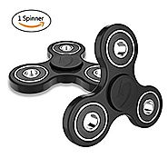 Wisdomspot Fidget Spinner Toy Stress Reducer - Perfect For ADD, ADHD, Anxiety, and Autism Adult Children for Killing ...