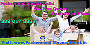 Shifting Safely With Packers And Movers Delhi