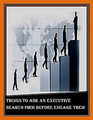Things to ask an executive search firm before engage them