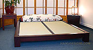 Buy Japanese Platform Bed - Haiku Designs