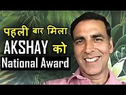 "Akshay kumar gets his first National Award ""Best Actor for Rustom"""