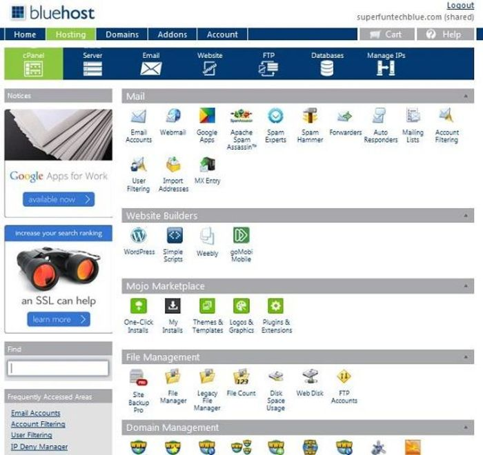 Bluehost Review: Choose Cheap, reliable best WordPress Shared Web Hosting 2017 - A Listly List