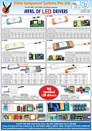 Victor Component Systems Pvt. Ltd., New Delhi, Deals in : Led Drivers, Tube Light Drivers, Led Light Drivers, SPD Dri...