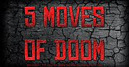 Five Moves of Doom: The Undertaker's Signature Maneuver's and Finishers