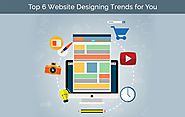 Top 6 website designing trends for you [Infographic]
